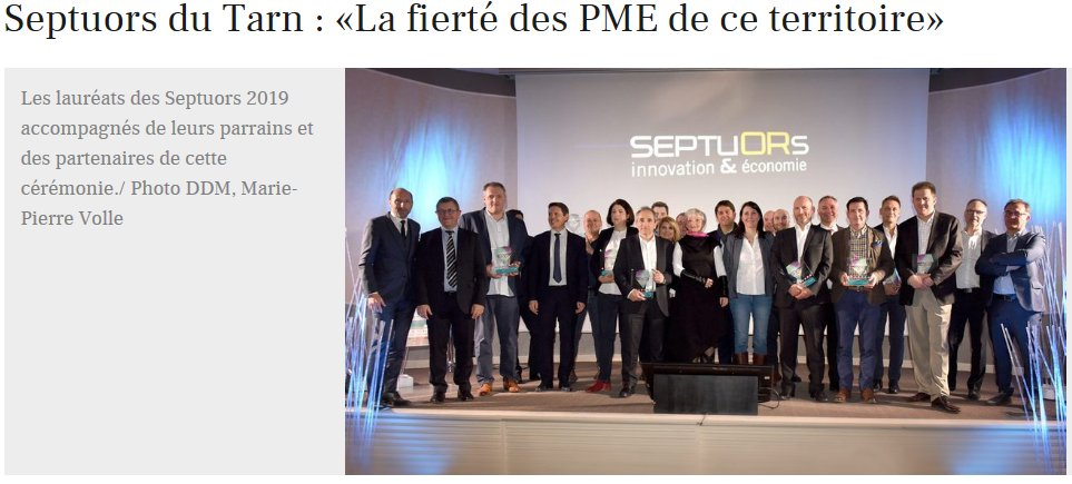 la depeche septuors